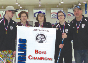 One gold, two silvers for Roland Michener curling teams