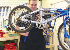 Bicycle repairs, anyone?