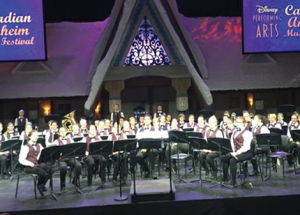 Roland Michener band students attend music festival in California