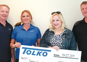 Tolko gives back