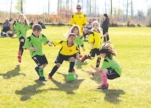 Soccer begins!