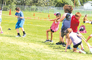 E.G. Wahlstrom hosts annual track and field meet