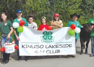 Kinuso Canada Day – Rodeo Parade Winners