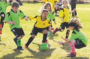 Over 250 kids play minor soccer 2017 outdoor season