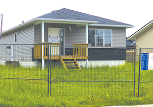 Slave Lake Habitat For Humanity project nearing completion