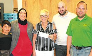 Locals helping Slave Lake Food Bank