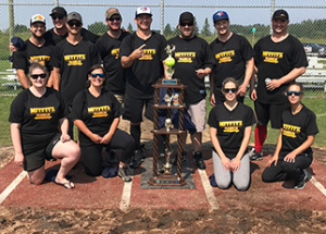 Misfitz, Blue Jays slowpitch champs