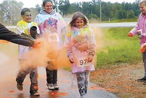 Colour Rush 5km Powder Run happening this weekend