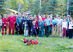 Community members pitch in to reduce wildfire risk