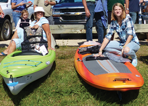 Floating fun, prizes and free food on the river