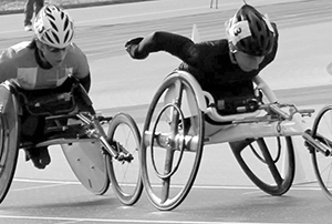 Wheelchair Olympian thinking of getting back into competition