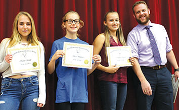 RMSS academic awards