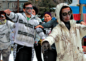Regional Arts Council hosts first annual zombie fun run