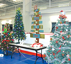 Bid on a Christmas tree for a good cause