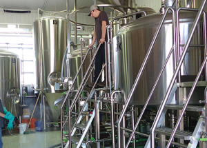Local craft brewery launches bigger system