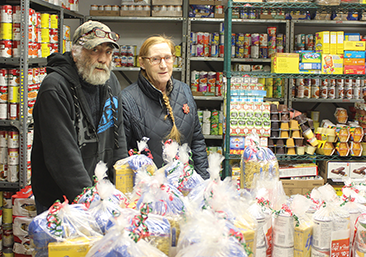 Food bank in decent shape after Christmas season rush
