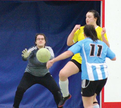 Second annual indoor soccer tournament hosts a dozen teams