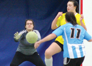 Second annual indoor soccer tournament hosts a dozen teams