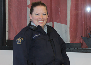 New RCMP constable finds Slave Lake a good place to work