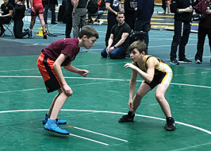 High school wrestlers grapple with the best in city tournament