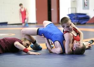 Wrestling wraps with fun tourney