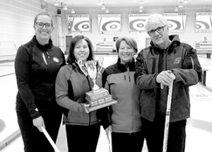 Curling champions crowned