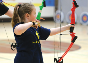 St. Francis holds archery tournament