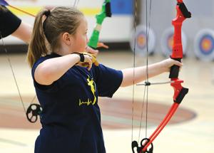 St. Francis holds archery tournament