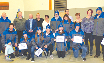 Gold, silver, bronze ulus for local Arctic Games athletes