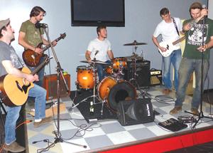 Rocking at Billy & Bob's