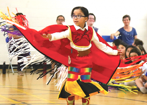 E.G. Wahlstrom celebrates Indigenous Day