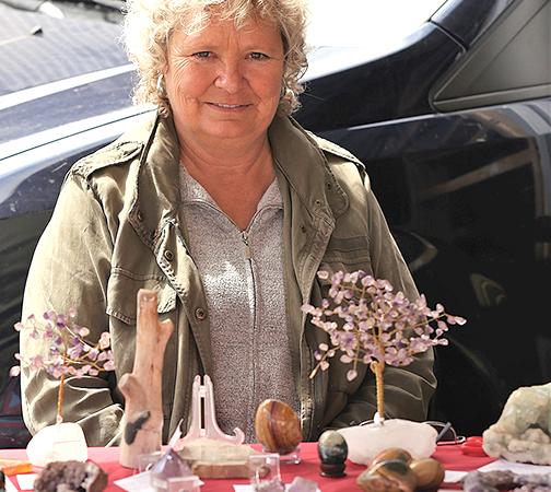 Crystal healing comes to Slave Lake farmers market