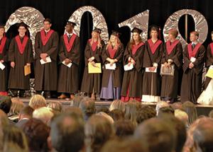 Best and brightest; Roland Michener's award-winning grads