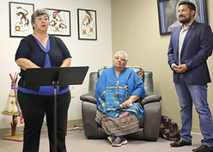 Minister announces anti-racism funding in Slave Lake