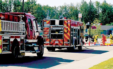 Chemical leak shuts down Multi-Rec Centre