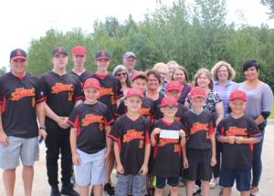 Rotary boosts baseball
