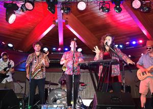 Funky jazz band entertains community members in Slave Lake