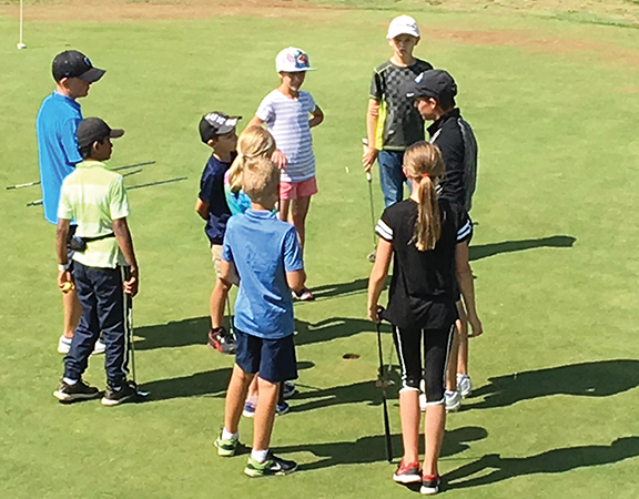 Golf camp for youngsters