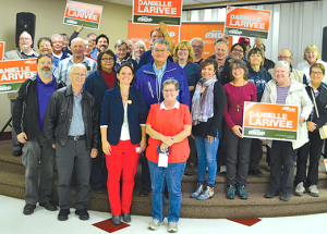 Danielle Larivee nominated as NDP candidate in Lesser Slave Lake