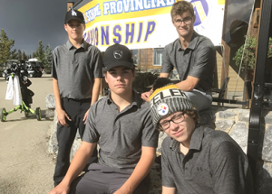 RMS Rams place fifth at high school golfing provincials