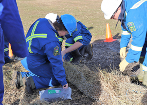 Alberta Support and ERT's annual training held in Slave Lake