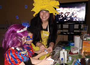 Kids crowd Boreal Centre for Halloween fun and learning