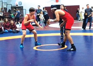 Rams win medals in first wrestling tournament