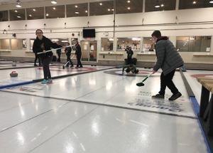 Week 8 of Junior curling action