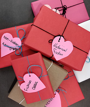 'Blind Date With A Book' all this month