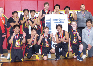 St. Francis Falcons win league  and zone championship