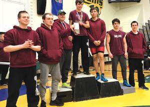 Roland Michener Rams qualify for wrestling provincials