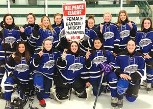 Girls win gold!