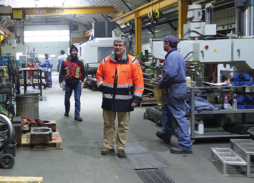 Business thrives at Heavy Equipment Repair