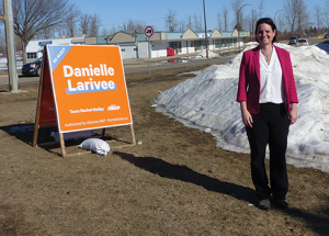 Incumbent MLA Larivee makes case for another term
